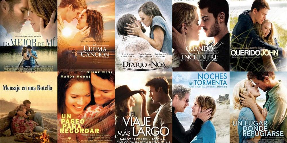 10 Peliculas Romanticas Basadas En Novelas De Nicholas Sparks Que