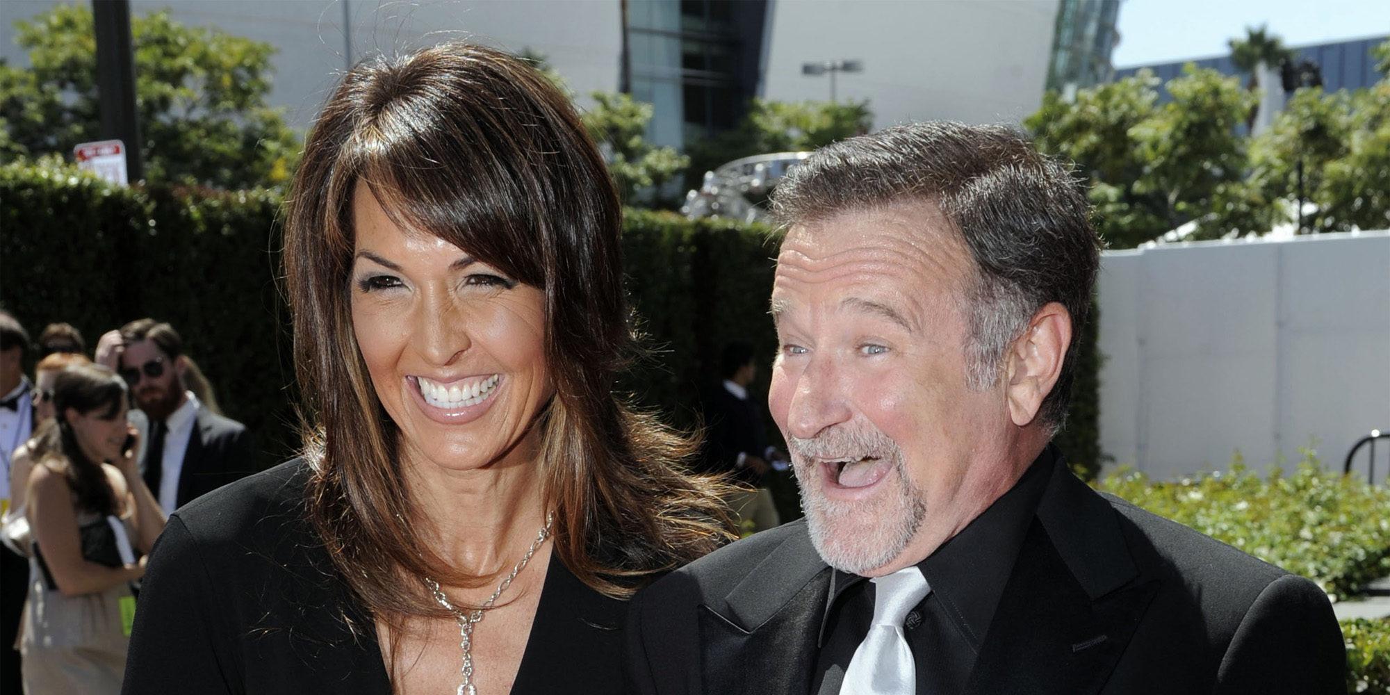 """La desgarradora carta de la viuda de Robin Williams: """"La demencia con cuerpos de Lewy es lo que le mató"""""""