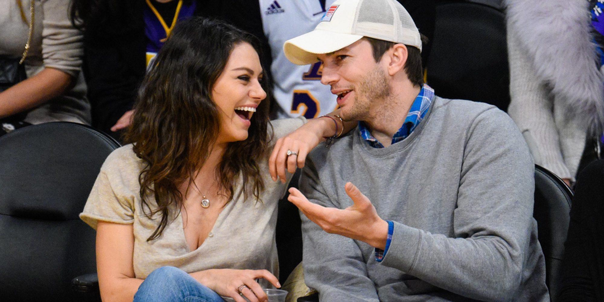 A Ashton Kutcher se le escapa el sexo de su segundo hijo con Mila Kunis