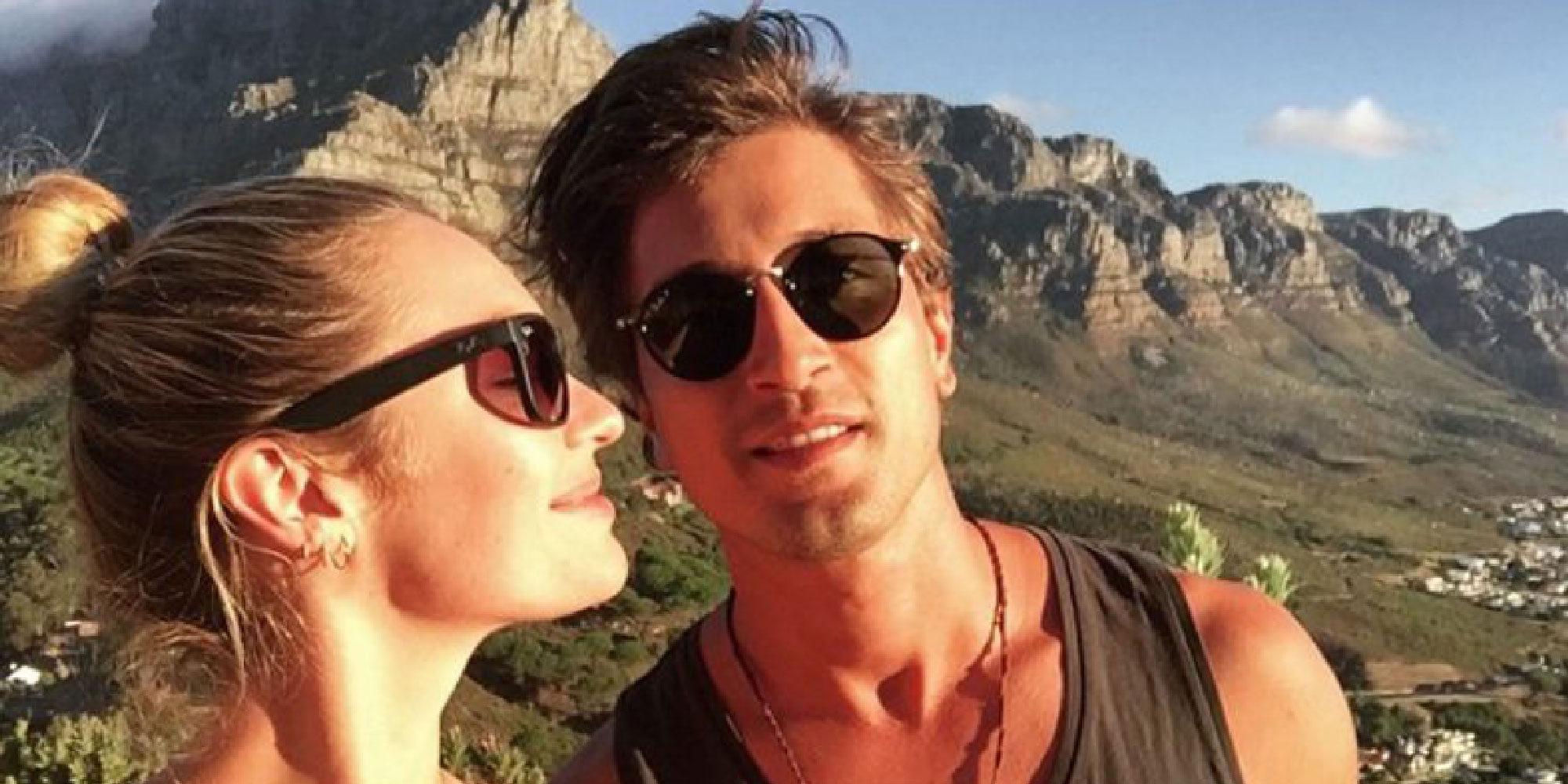 Candice Swanepoel y su novio Hermann Nicoli han sido padres de un niño llamado Anaca