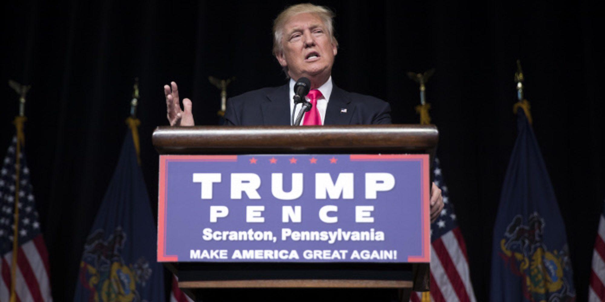 """Donald Trump define a su hija Ivanka Trump como un """"voluptuoso trozo de culo"""""""