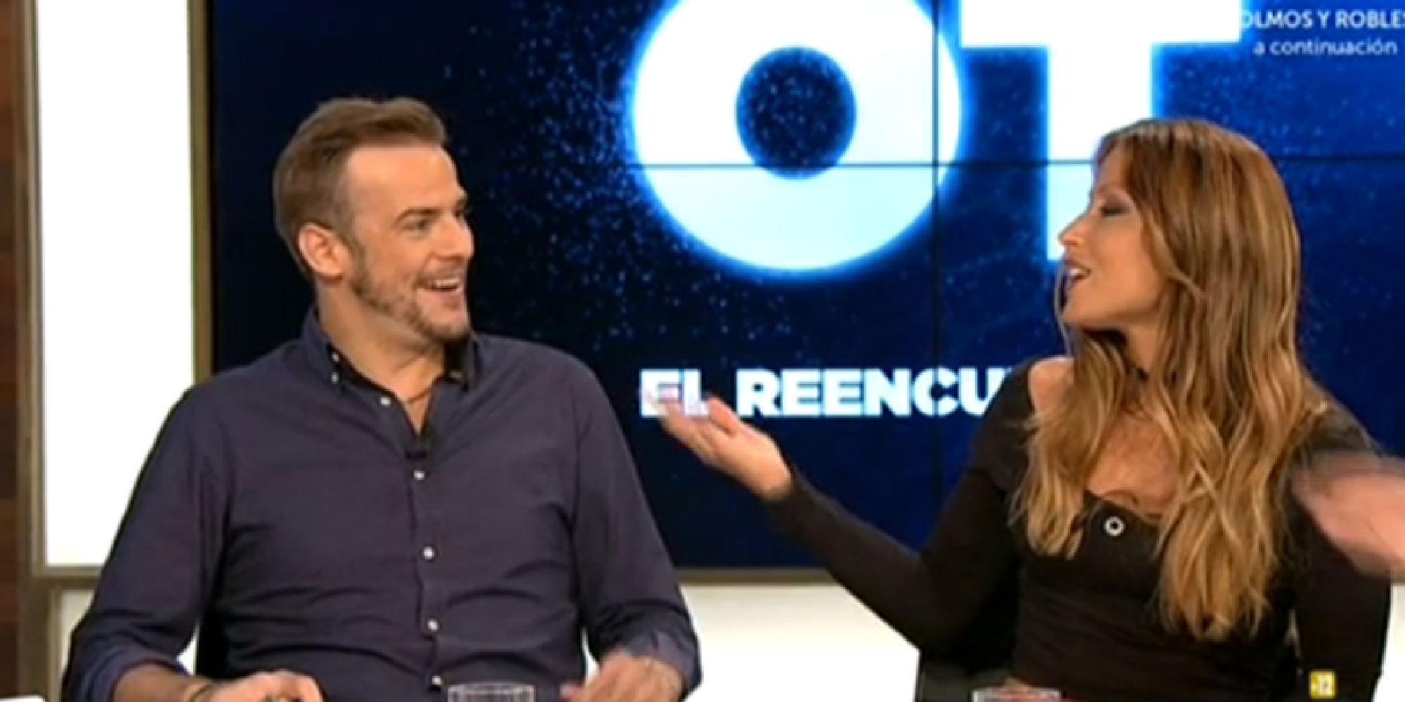 'Hora punta', el nuevo programa de La 1, se estrena con un bombazo de OT: ¡Álex y Vero estuvieron liados!