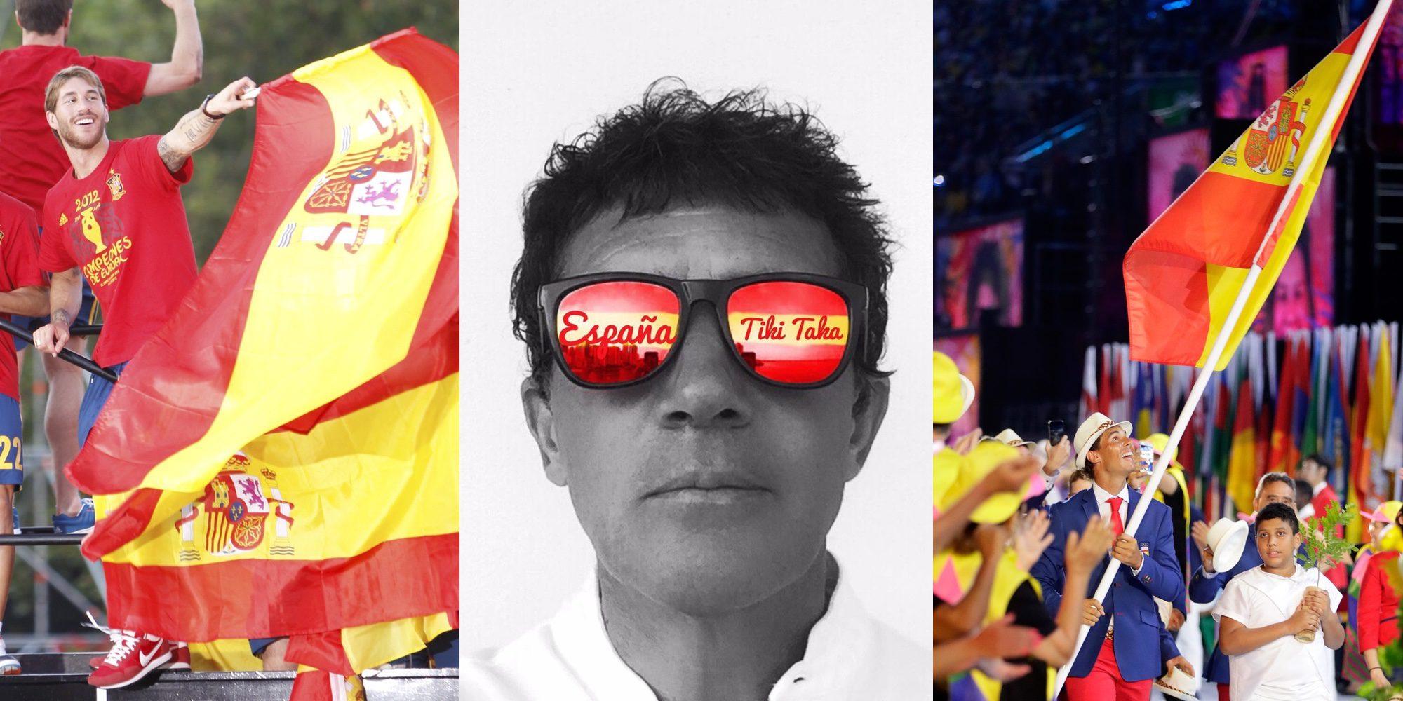 De Antonio Banderas a Rafa Nadal: Los famosos españoles más patriotas