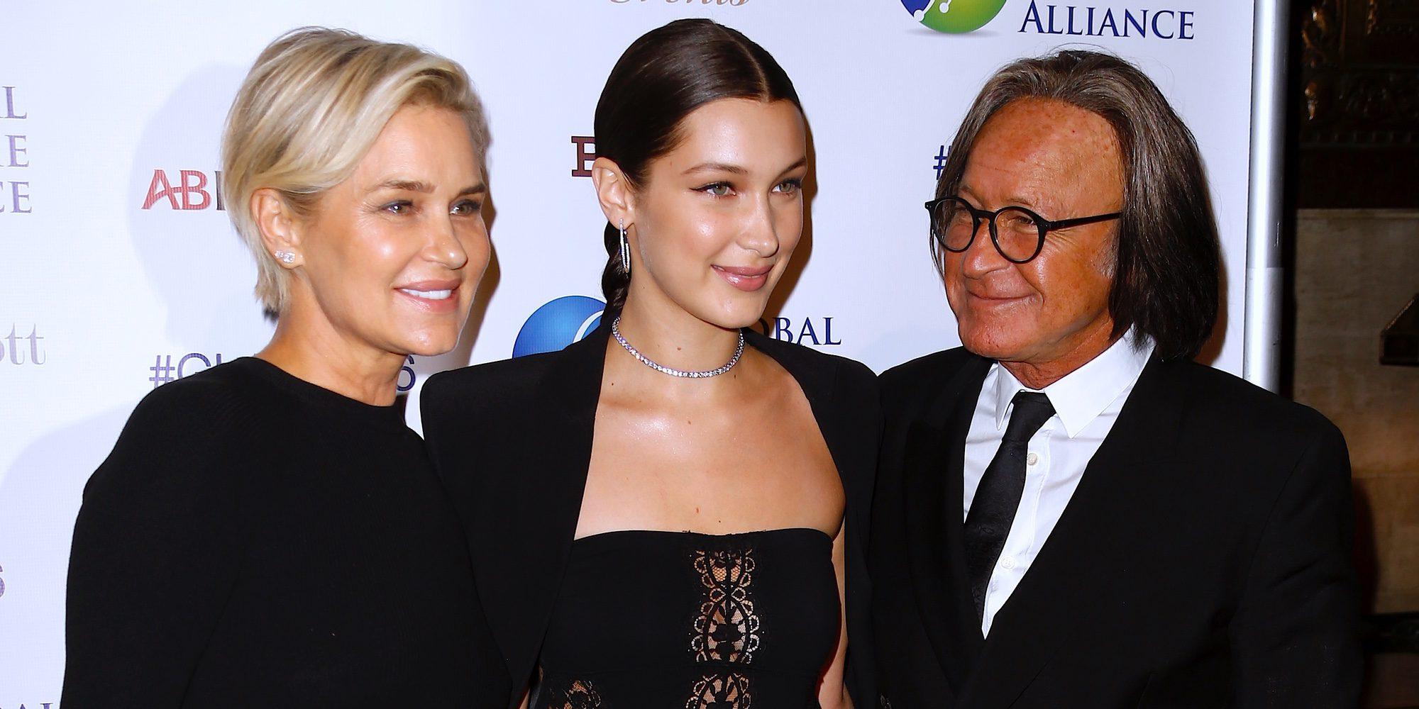 Yolanda Foster y Mohamed Hadid, juntos de nuevo para arropar a su hija Bella