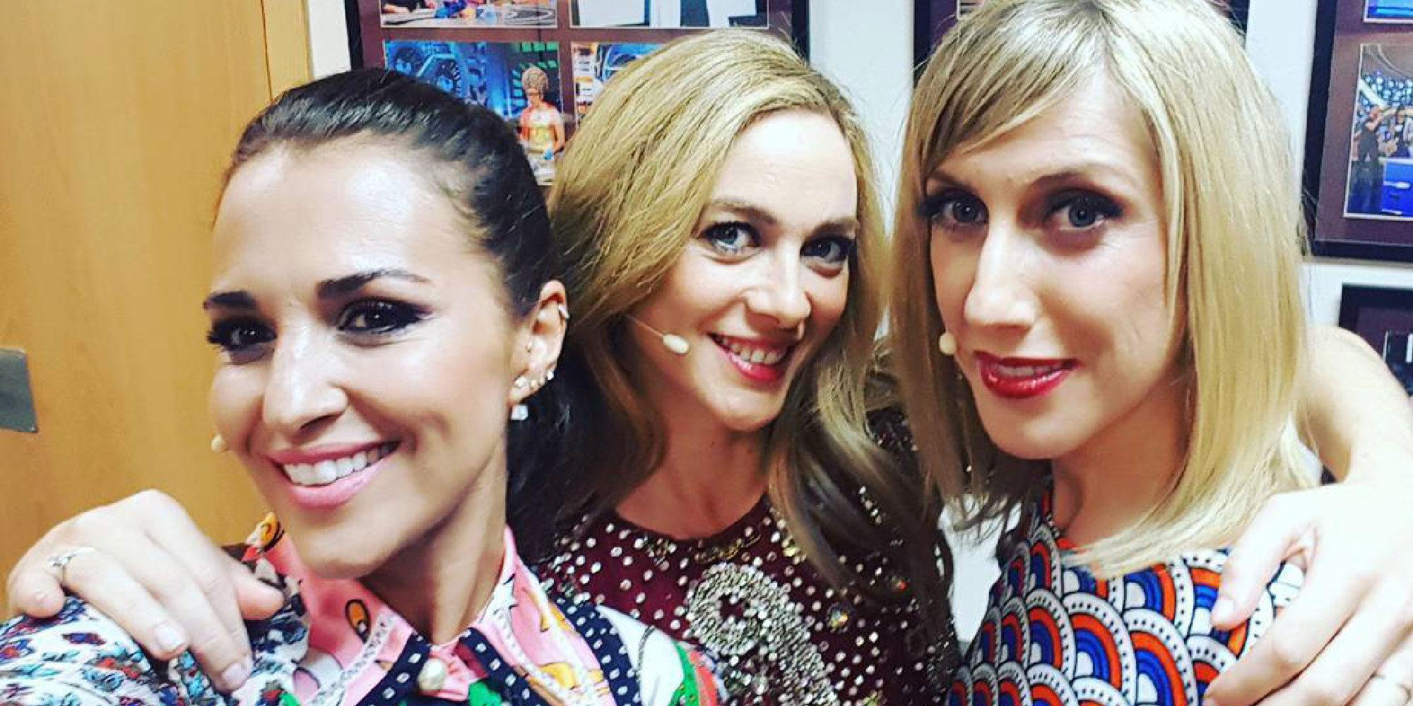 Reencuentro 'Velvet': Marta Hazas, Cecilia Freire y Paula Echevarría se funden en un bonito abrazo