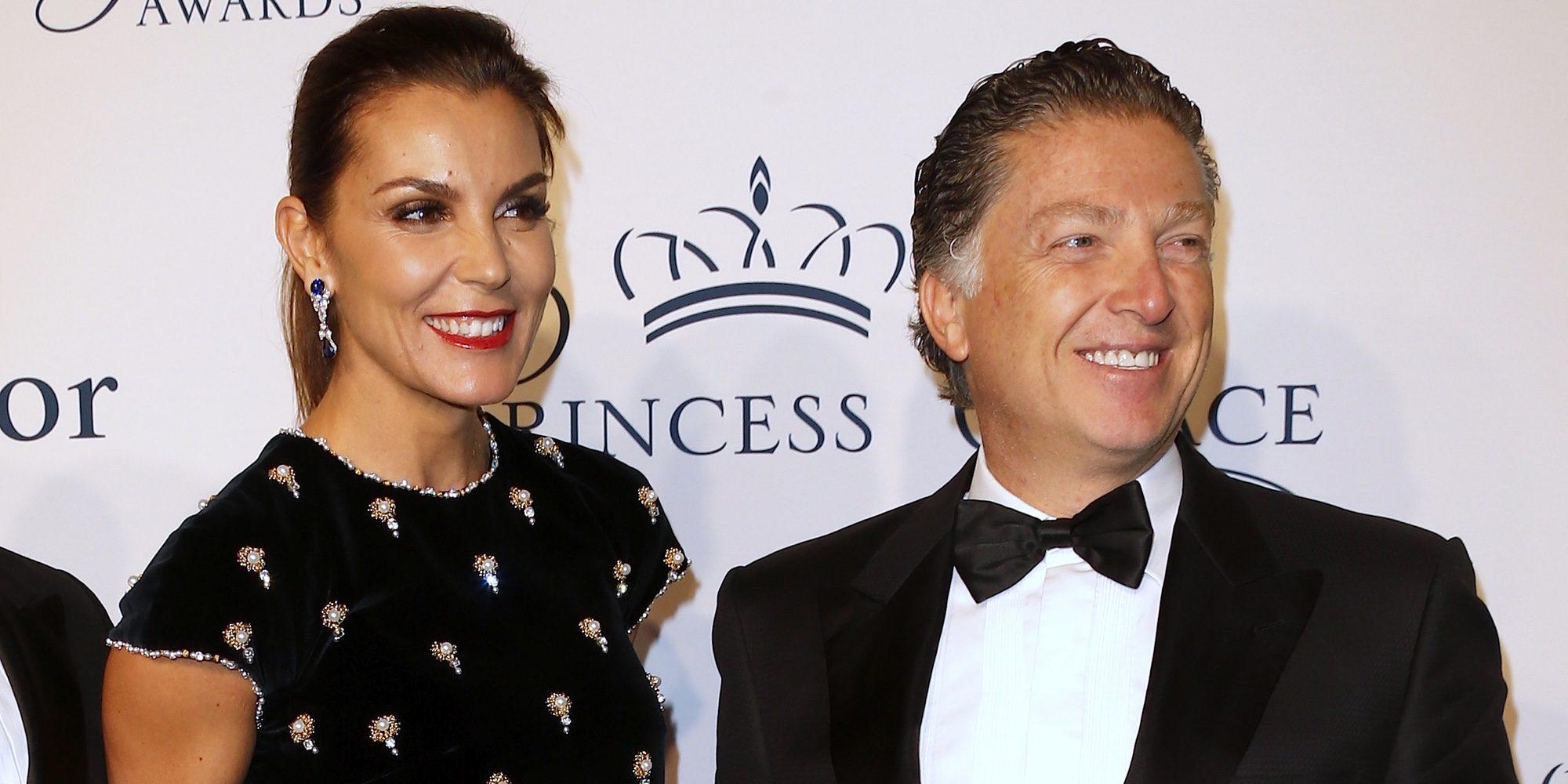 Mar Flores y Elías Sacal posan por primera vez juntos en la entrega de los premios Princesa Grace