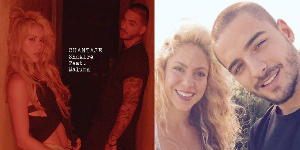 Shakira y Maluma juntos: Estrenan el single 'Chantaje' - Bekia