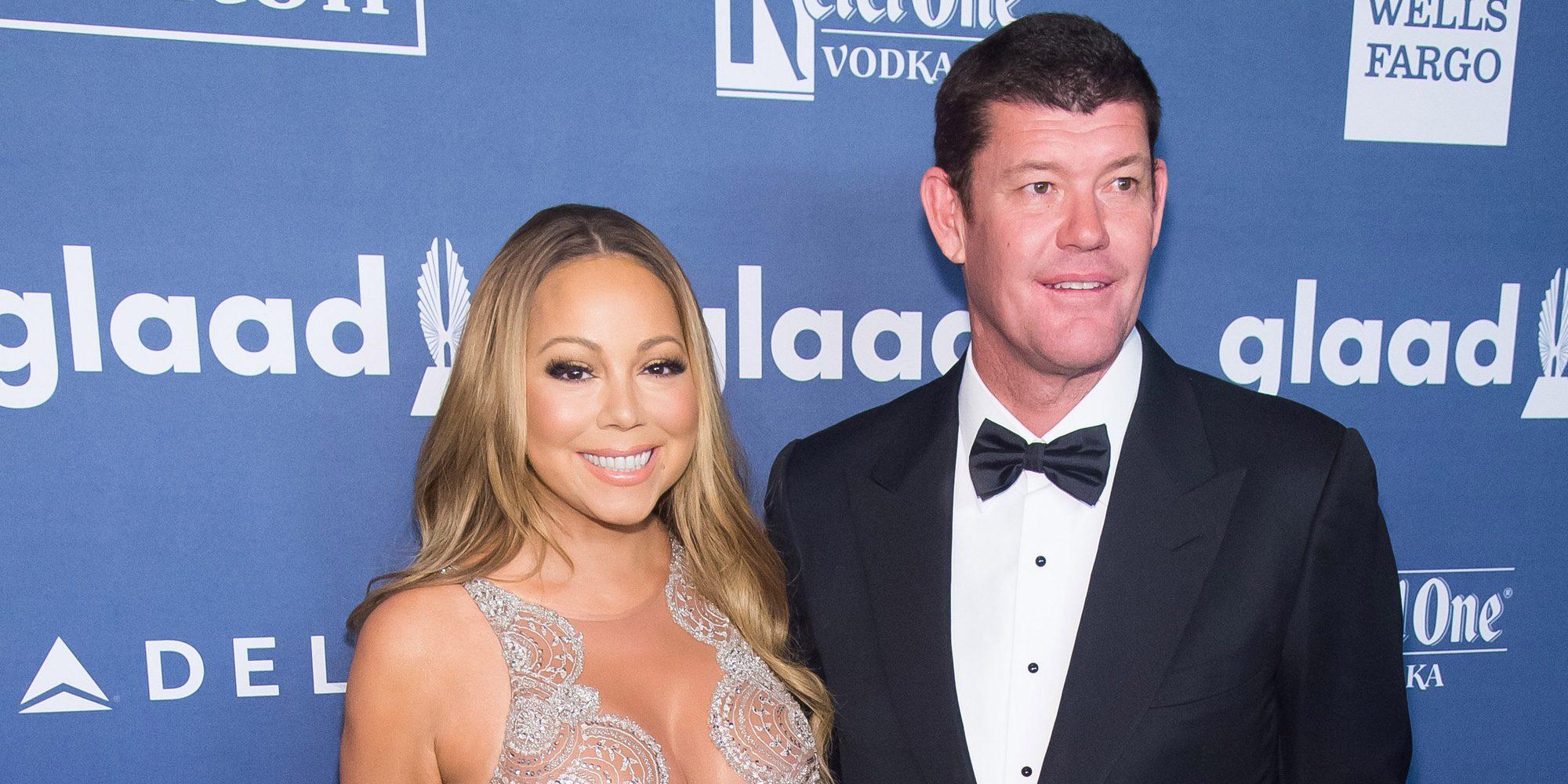 Una fuerte discusión por los celos de James Packer con un bailarín de Mariah Carey acabó con su noviazgo