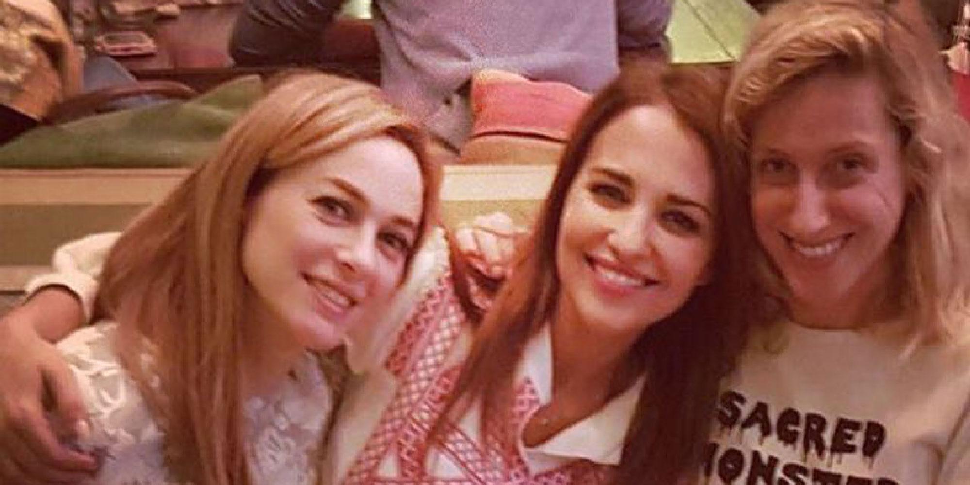 Reunión de 'Chicas Velvet': Paula Echevarría, Marta Hazas y Cecilia Freire presumen de amistad