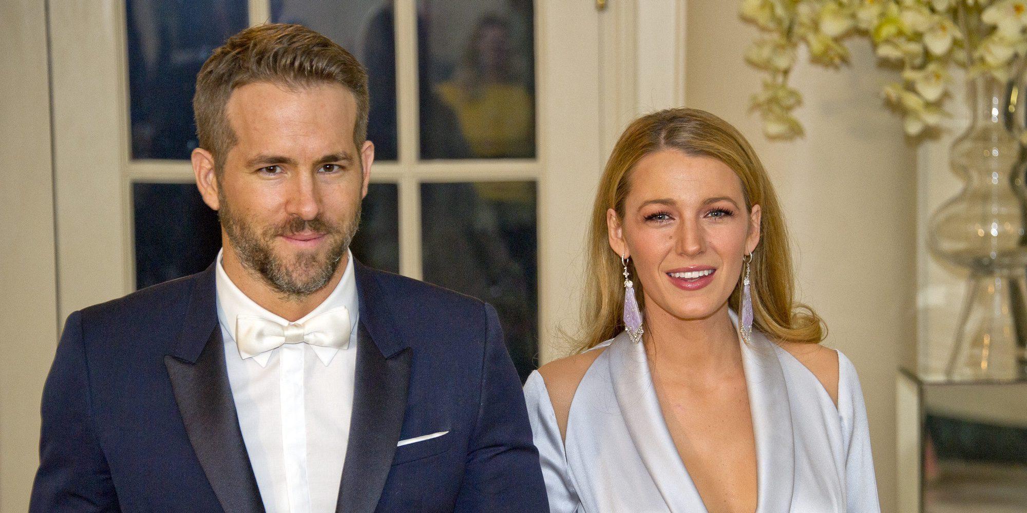 Ryan Reynolds 'confirma' que su segundo bebé con Blake Lively es una niña