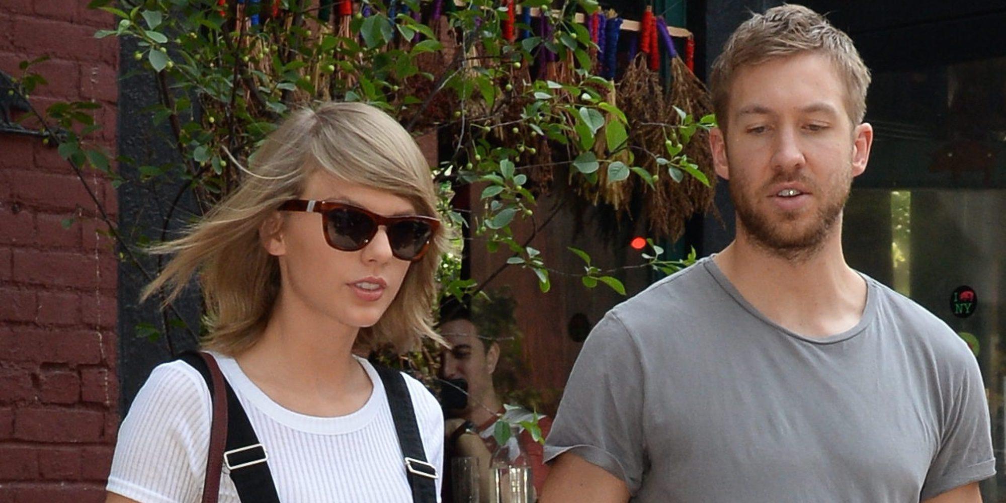 Calvin Harris felicita a su ex Taylor Swift por la canción 'This is what you came for'