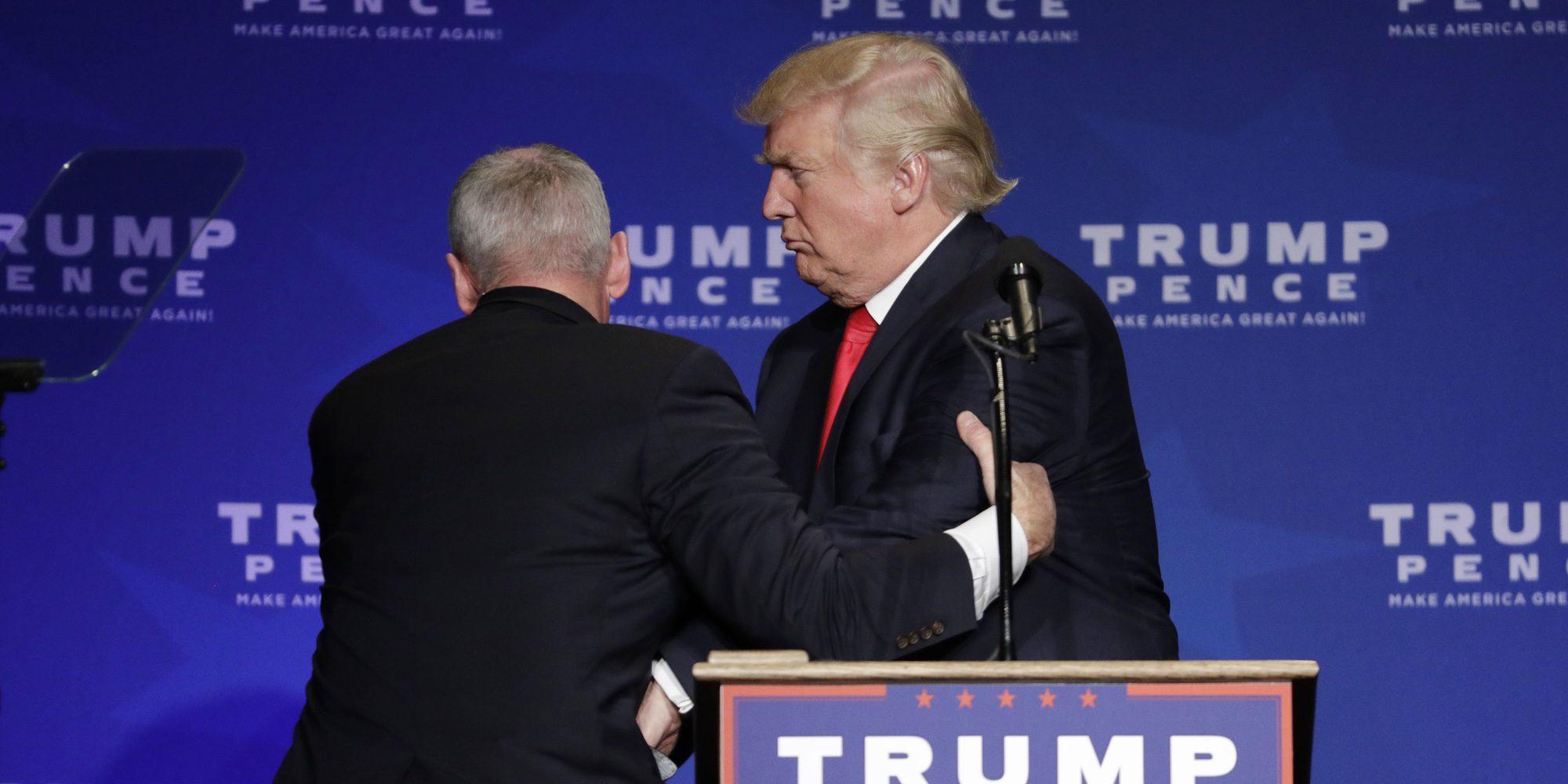 Donald Trump, evacuado durante un mitin en Nevada por una falsa alarma de tiroteo