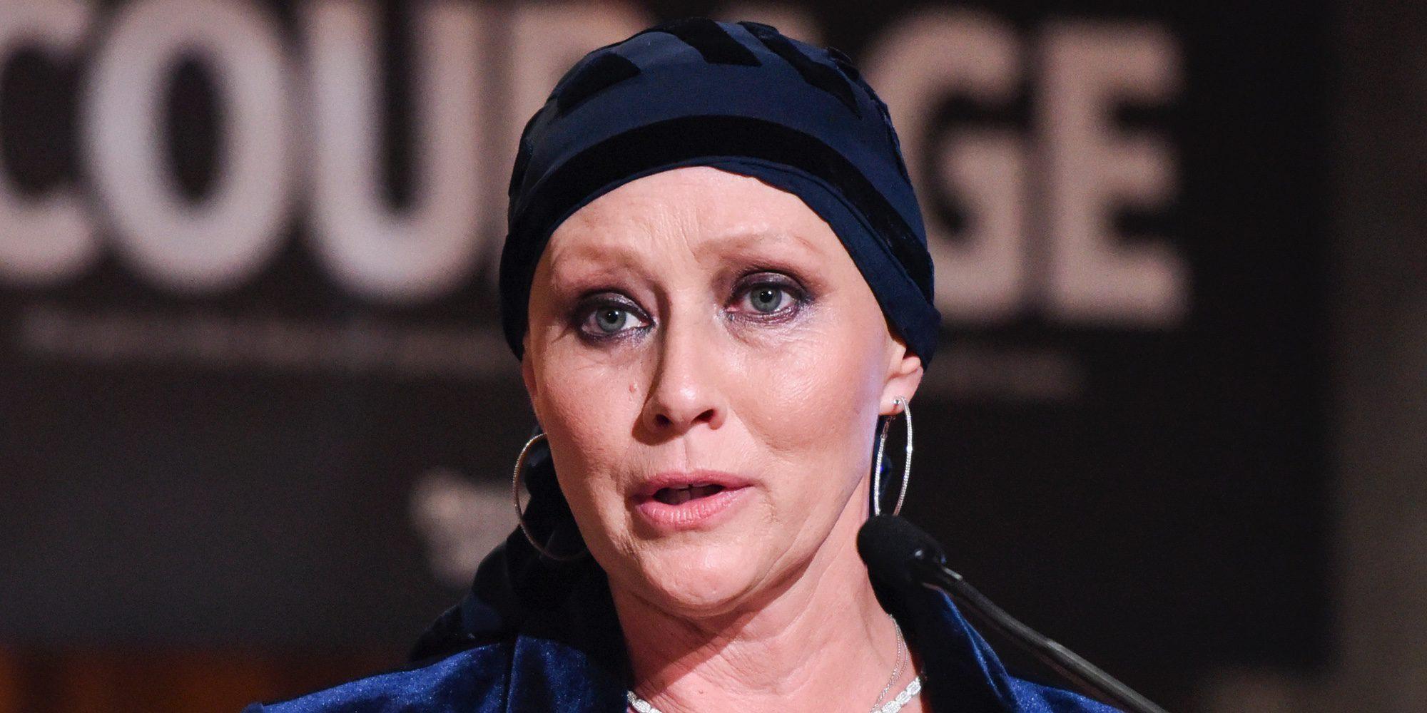 Shannen Doherty recibe un premio por su incansable y optimista lucha contra el cáncer