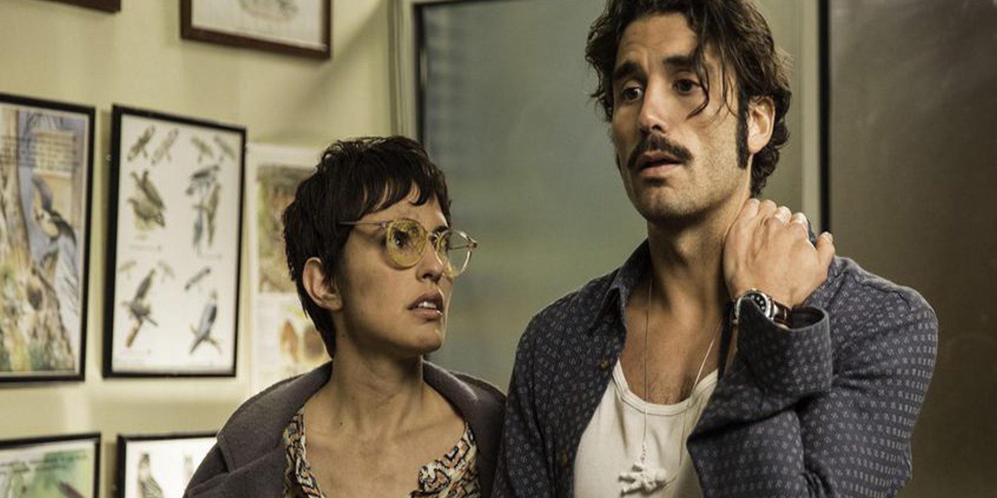 Verónica Echegui y Álex García, juntos para atraer el buen 'karma' de la taquilla