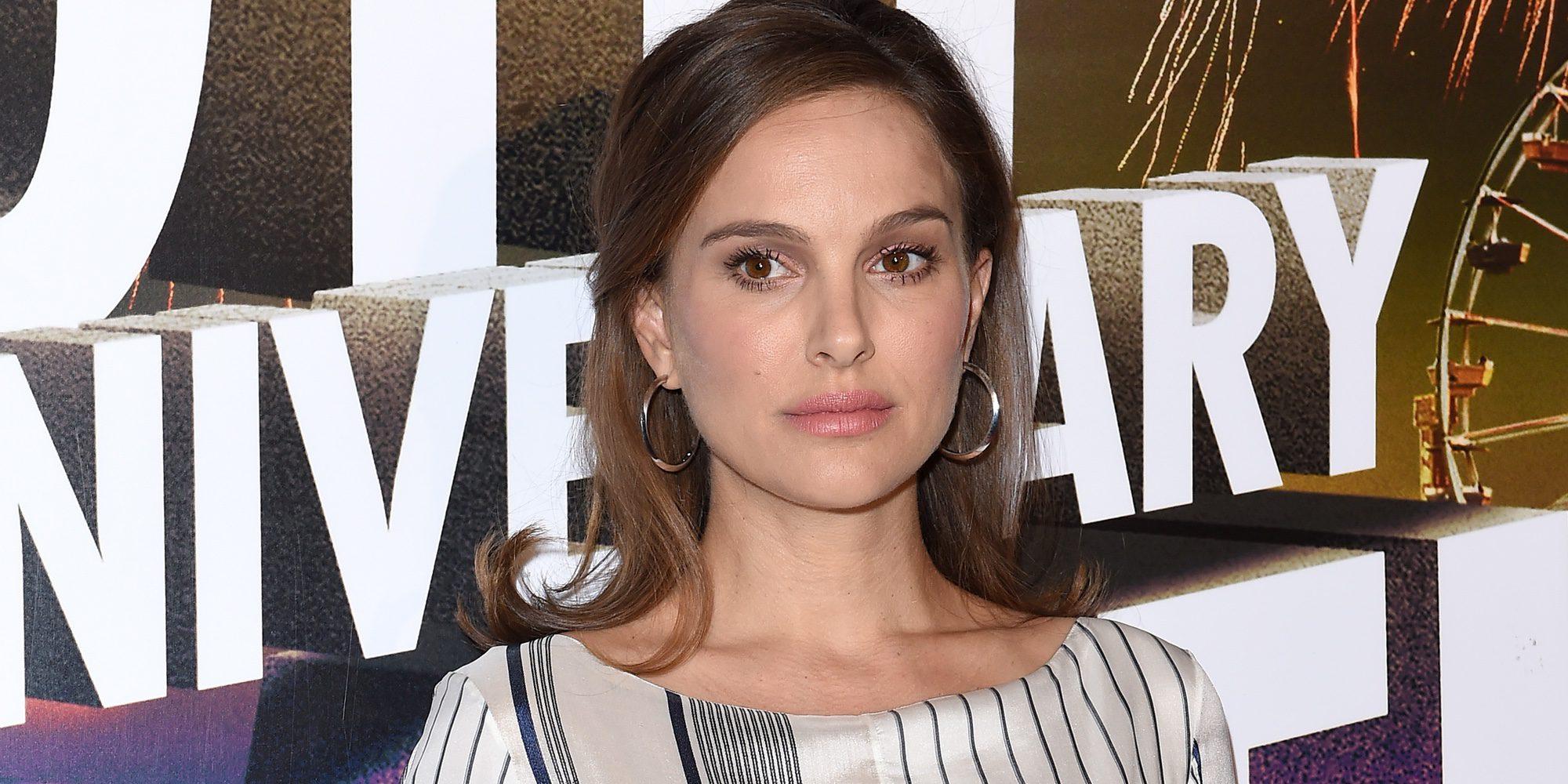 Natalie Portman luce embarazo en el Festival de Cine de Israel en Los Angeles