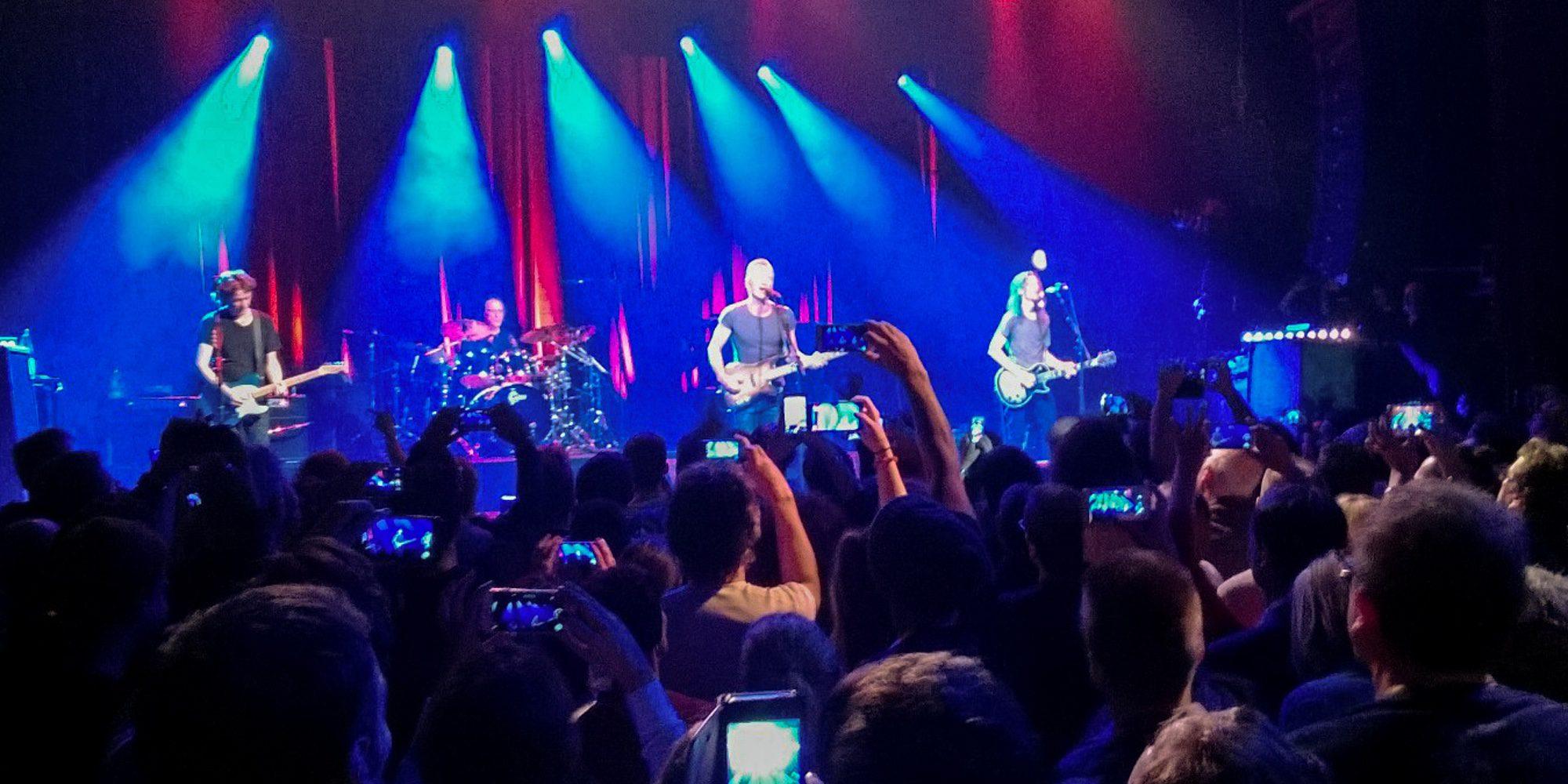 La sala Bataclan reabre sus puertas y acoge un concierto de Sting