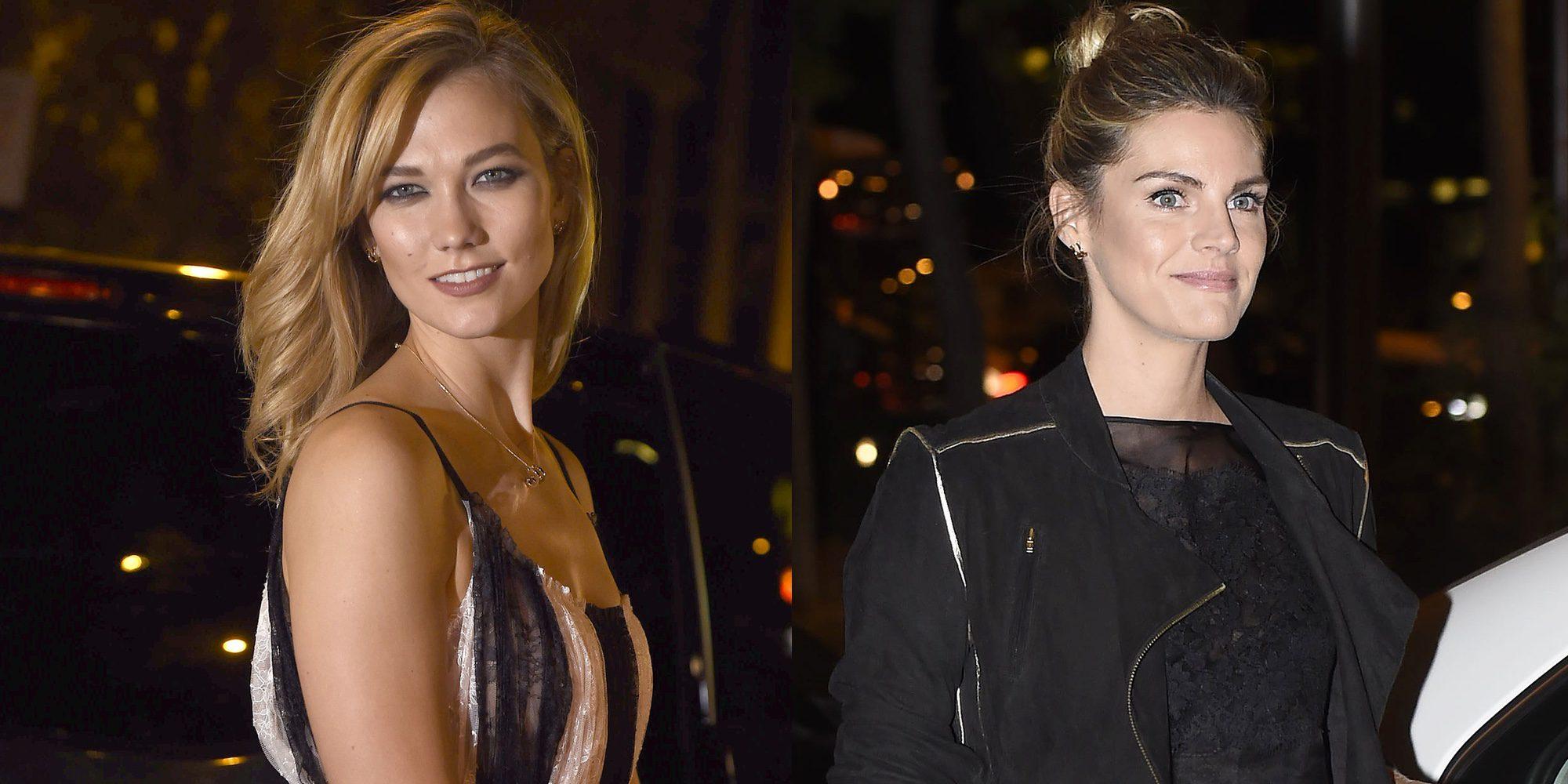 Karlie Kloss y Amaia Salamanca no se pierden la fiesta en honor a Carolina Herrera en Madrid