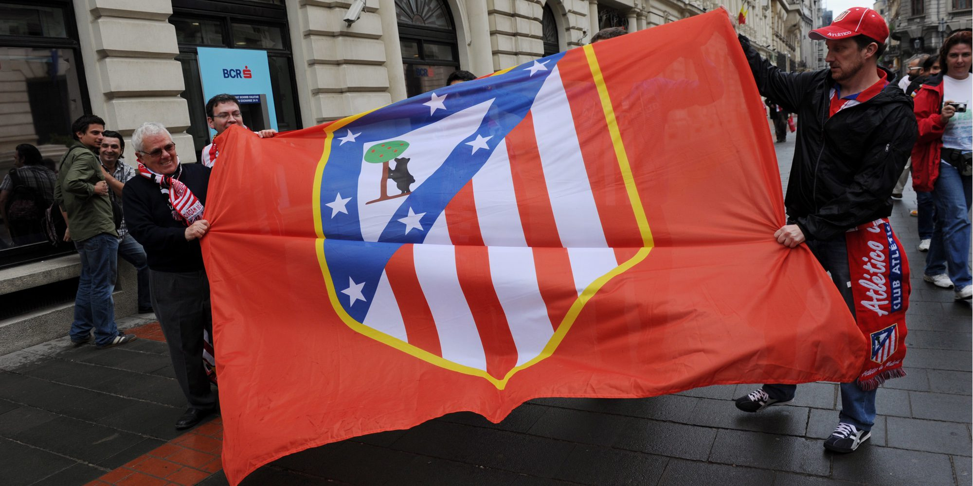 Graban a una futbolista mientras se duchaba en los vestuarios de la Ciudad Deportiva del Atlético de Madrid