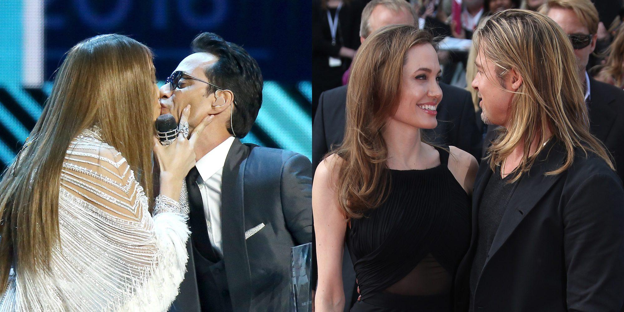 JLo y Marc Anthony, Brad Pitt y Angelina Jolie y otra 6 parejas que nos gustaría que volvieran