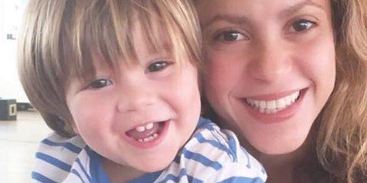 """Shakira confirma con una tierna imagen que su hijo Sasha ya está recuperado: """"Ahora todo bajo control"""""""