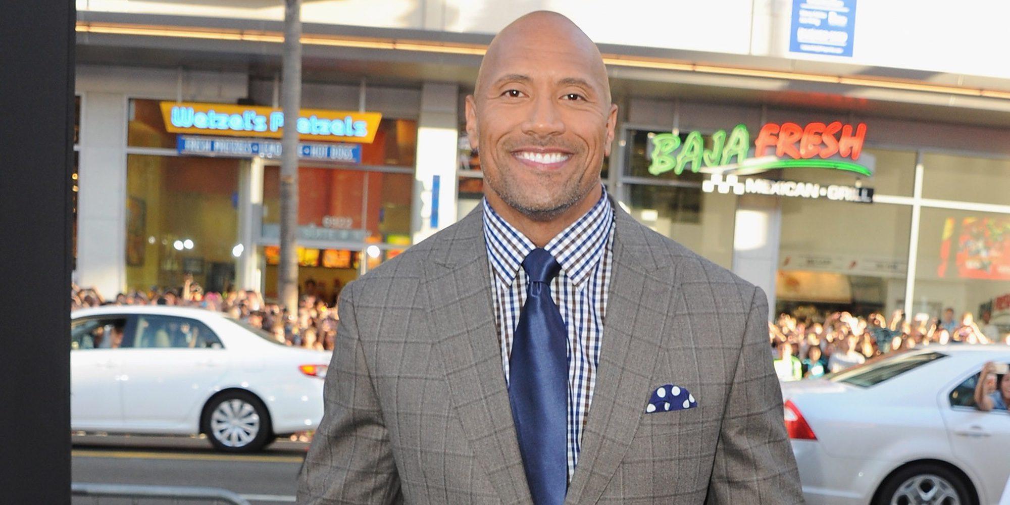 Dwayne Johnson, nombrado el hombre vivo más sexy del año