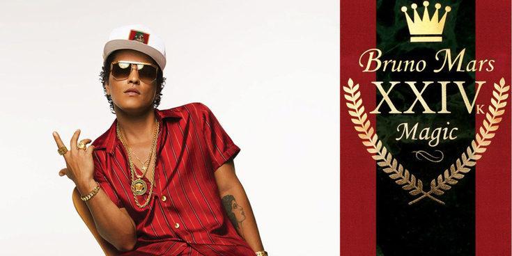 Bruno Mars encabeza las novedades musicales de la semana con '24k Magic'