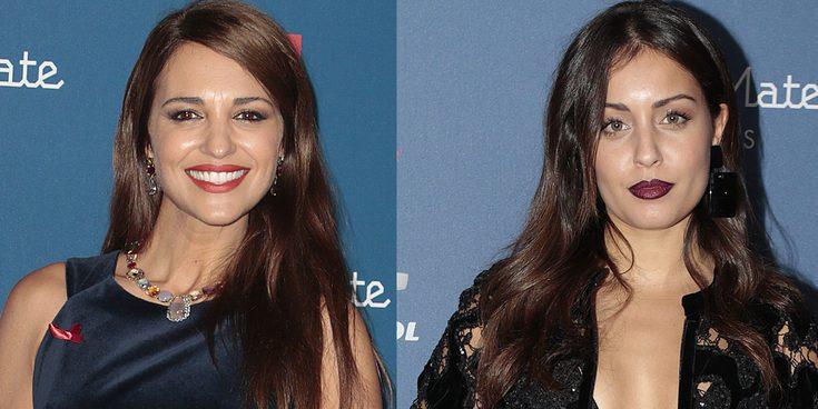 Paula Echevarría, Hiba Abouk y Dani Rovira no se pierden la llegada de la Gala Sida a Madrid