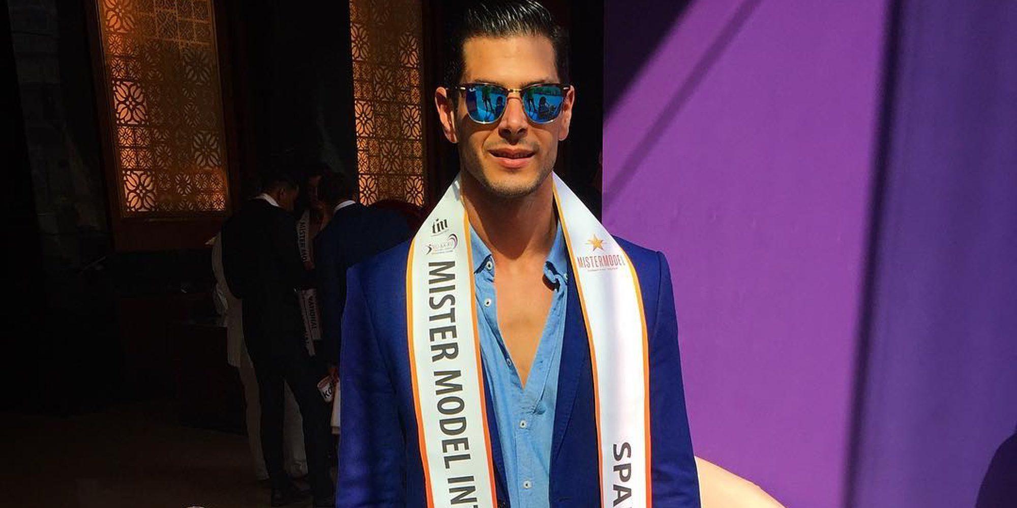 Alejandro Nieto ('GH VIP 4') logra el segundo puesto en el certamen Mister Model International Pageant