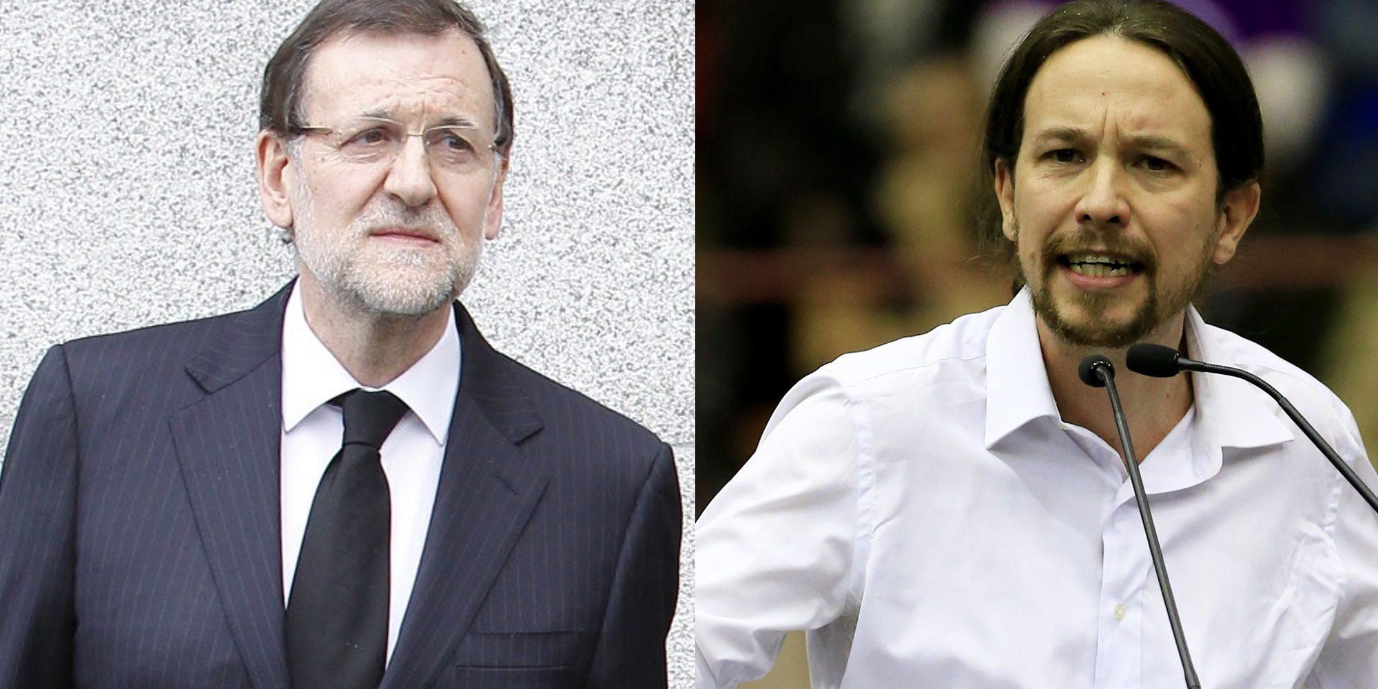 Mariano Rajoy, Pablo Iglesias y Quique Peinado reaccionan a la muerte de Rita Barberá
