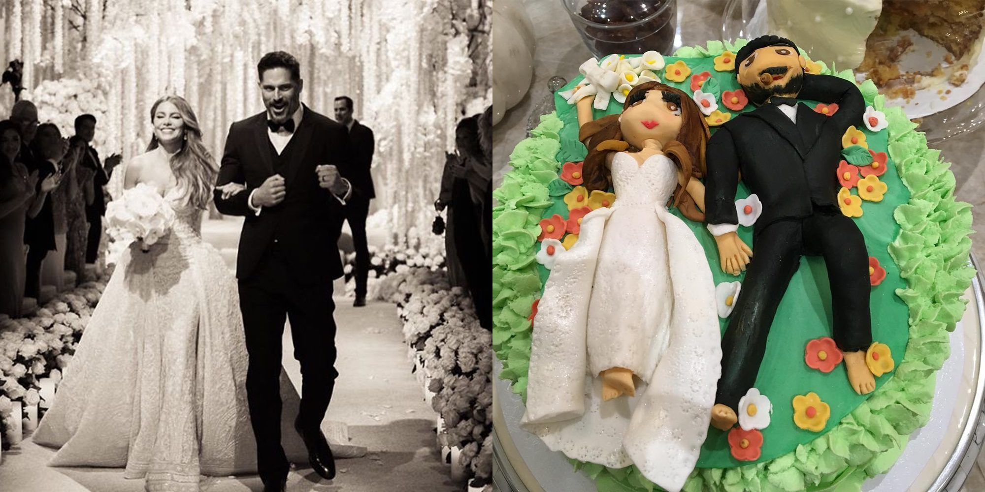 Sofia Vergara y Joe Manganiello celebran su primer aniversario de casados con nuevos fotos de su boda