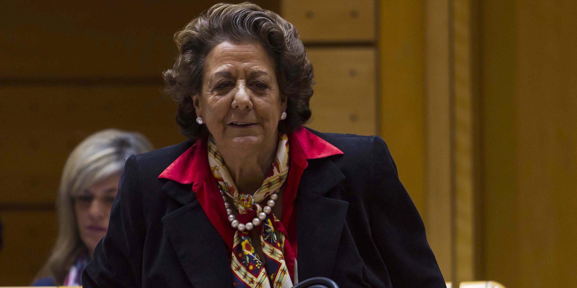 El SMS de Rita Barberá en el que aseguraba que había sido amenazada de muerte