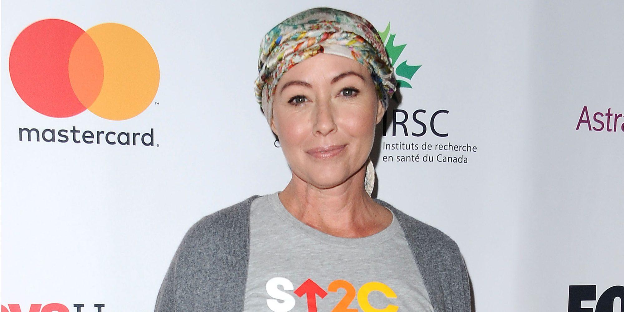 """Shannen Doherty ante su primera sesión de radioterapia: """"Es aterradora para mí"""""""