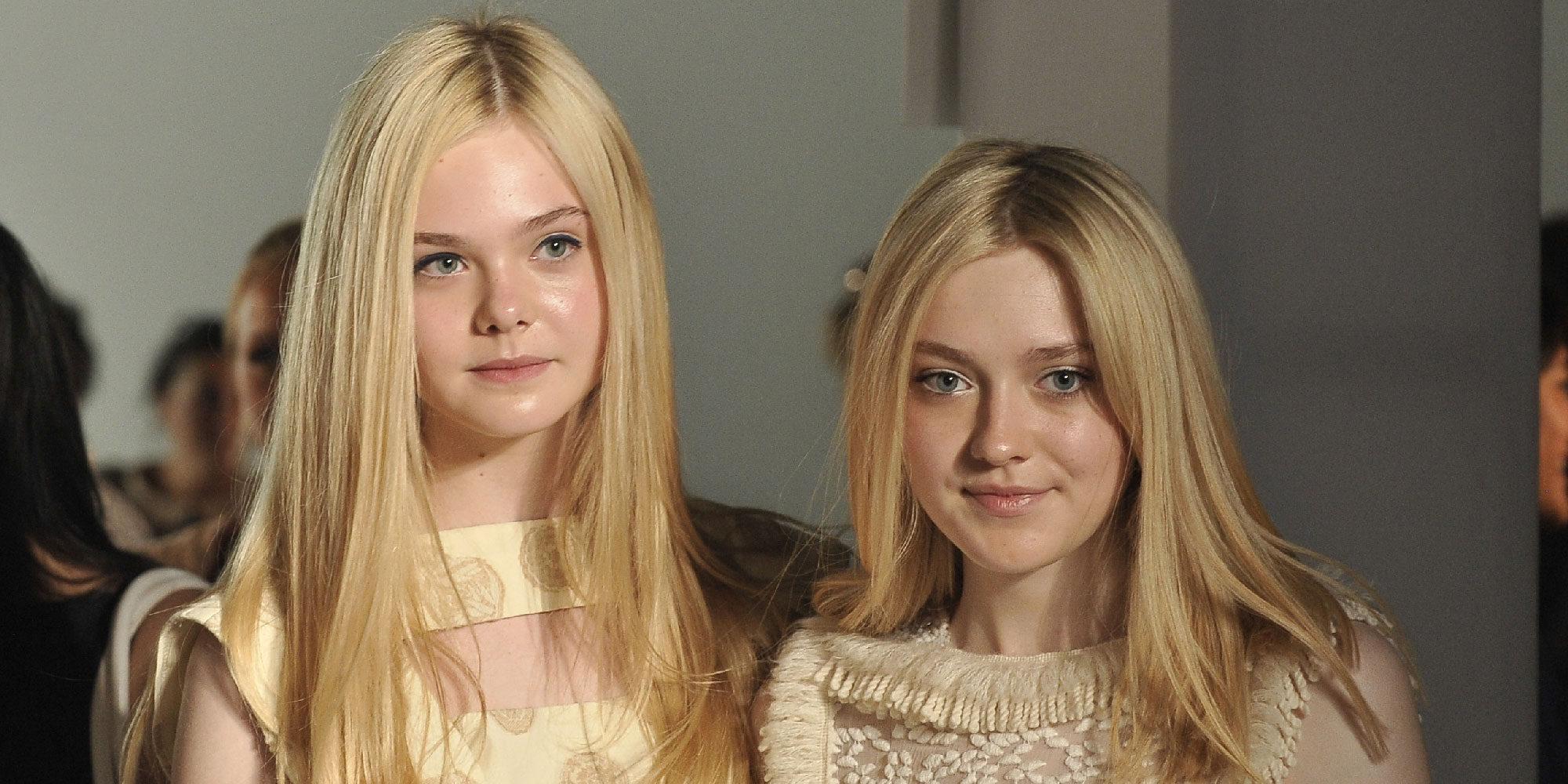 De estrellas infantiles a exitosas actrices: las hermanas Dakota y Elle Fanning