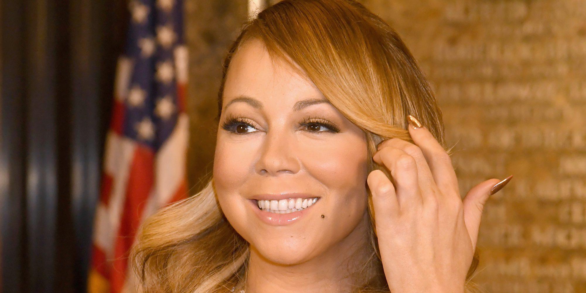 Mariah Carey enciende las luces de Navidad en Nueva York