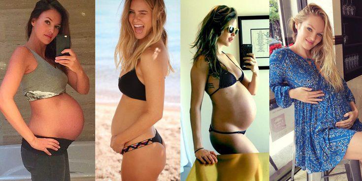 Bebés 'modelos': Helen Lindes, Bar Refaeli, Behati Prinsloo y Candice Swanepoel se han estrenado como madres en 2016