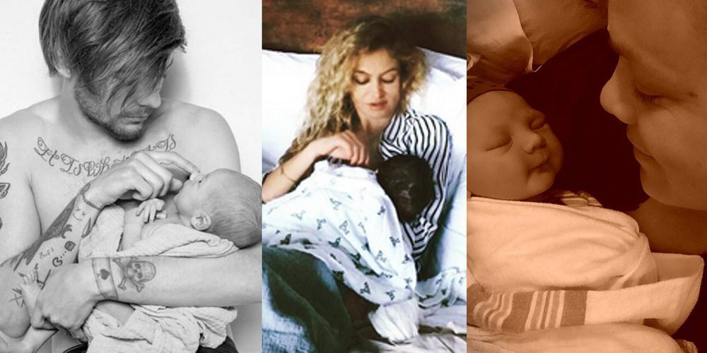 Los bebés 'musicales' de 2016: Louis Tomlinson, Kevin Jonas, Paulina Rubio y Pink han sido padres este año