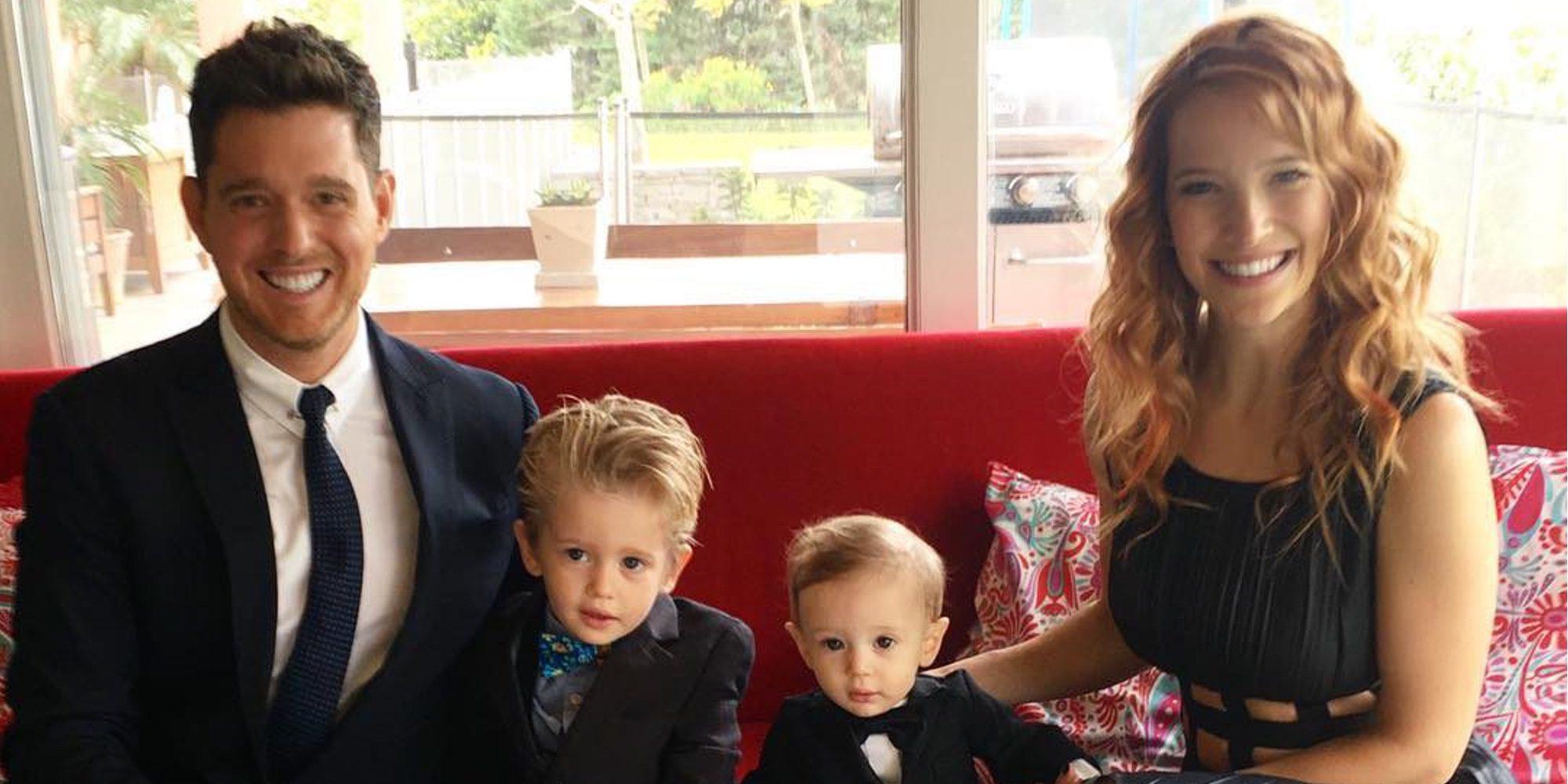 Noah, hijo de Michael Bublé y Luisana Lopilato, supera la primera fase del tratamiento contra el cáncer