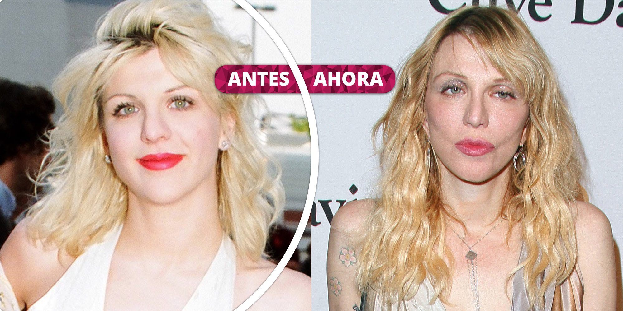 Así ha cambiado Courtney Love: La transformación de la viuda de Kurt Cobain