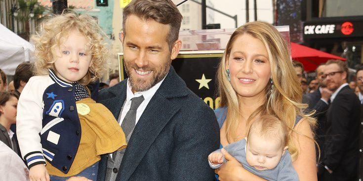 Desvelado el nombre español de la segunda hija de Blake Lively y Ryan Reynolds