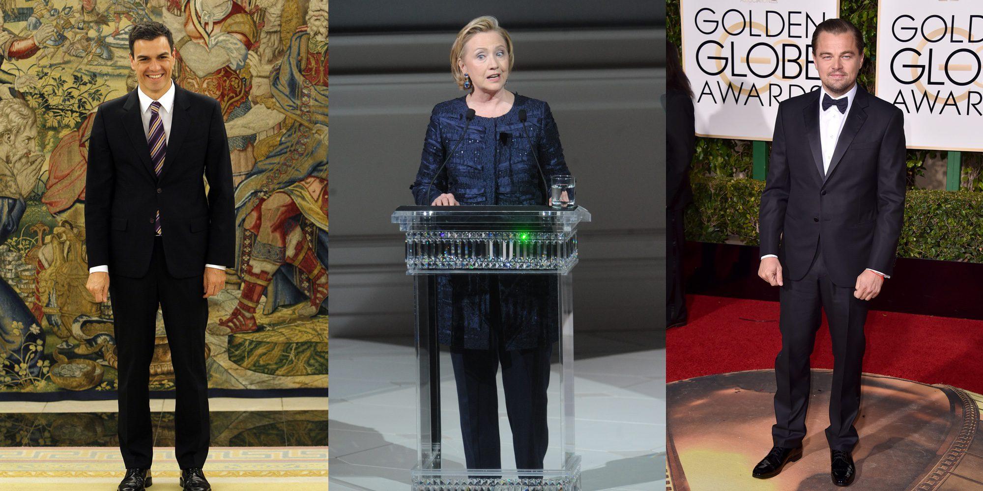 Pedro Sánchez, Leonardo DiCaprio, Hillary Clinton... los personajes que más titulares dieron en 2016