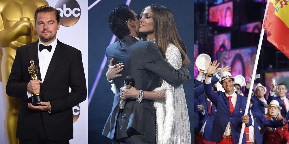 La cobra de Bisbal, Mercedes Milá dice adiós a 'GH', DiCaprio gana el Oscar... Los momentazos de 2016