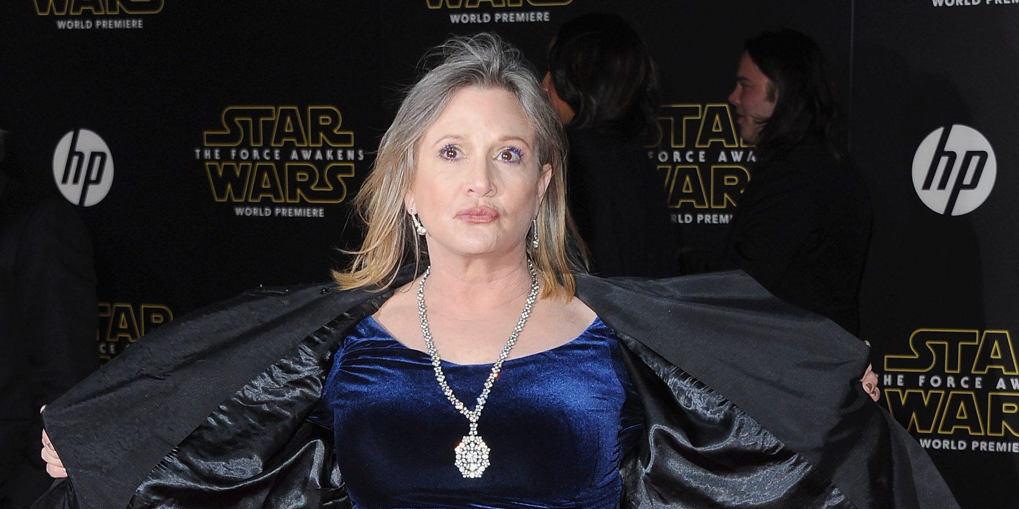 Muere Carrie Fisher a los 60 años tras sufrir un ataque al corazón