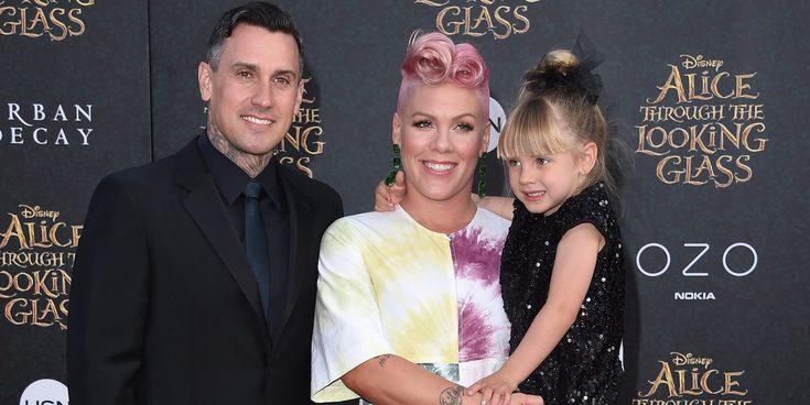 Pink y Carey Hart anuncian el nacimiento de su segundo hijo Jameson Moon Hart