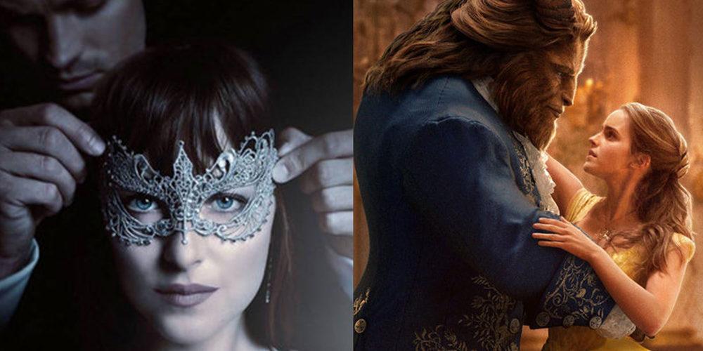 De 'Cincuenta sombras más oscuras' a 'La Bella y la Bestia': las pelis que vienen en la primera mitad de 2017