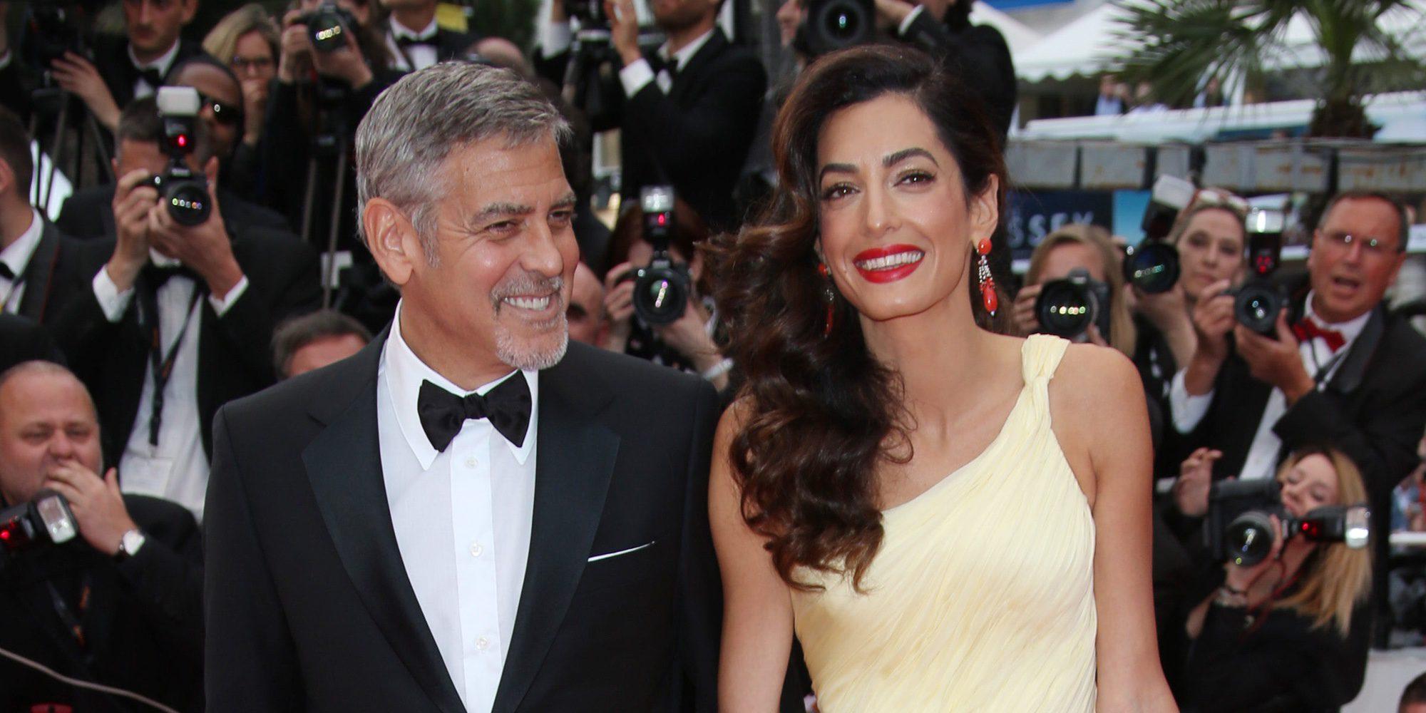 George Clooney y Amal Alamuddin podrían estar esperando gemelos para marzo