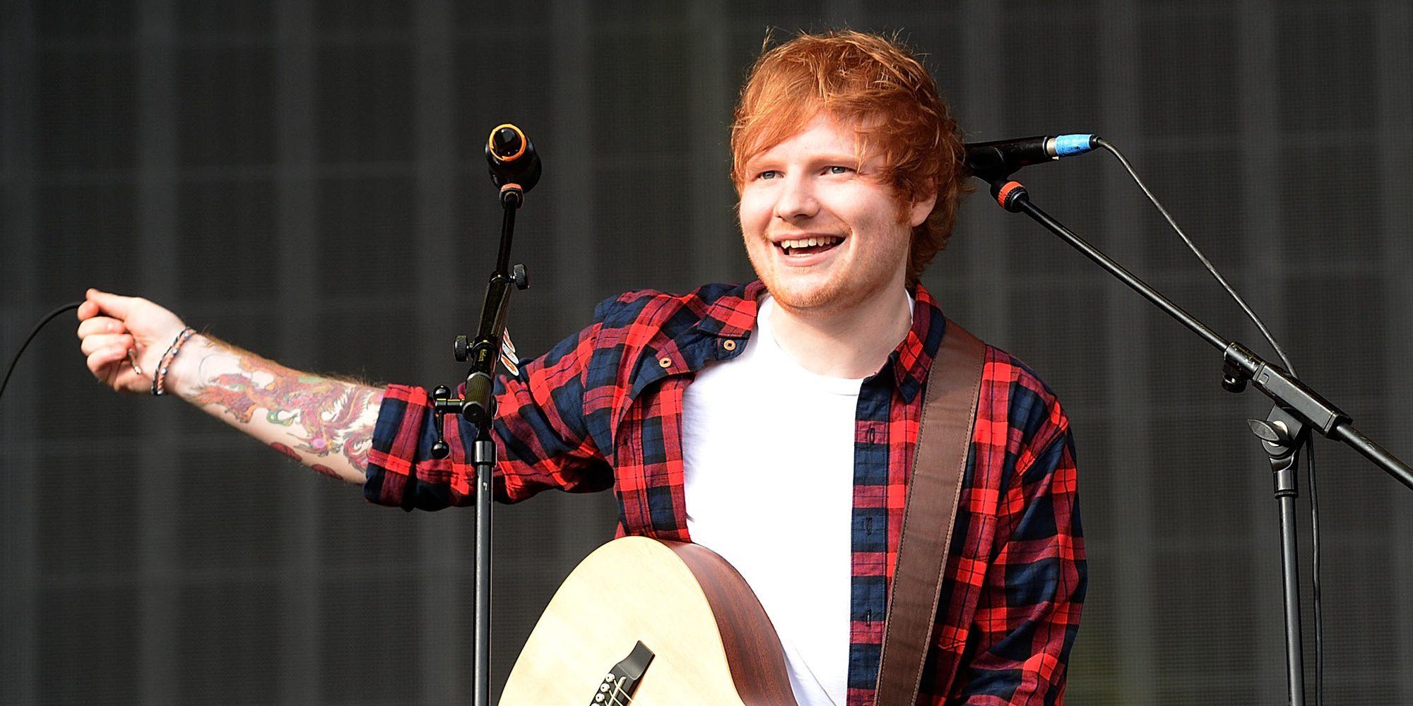 Ed Sheeran lanza las dos primeras canciones de su nuevo disco: 'Shape of you' y 'Castle on the hill'