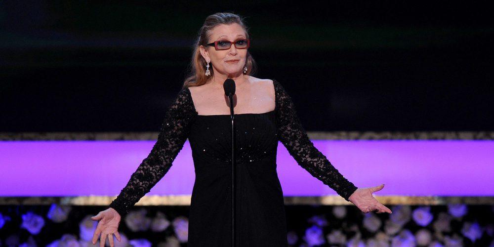 Las cenizas de Carrie Fisher han sido enterradas en una urna con forma de píldora de Prozac