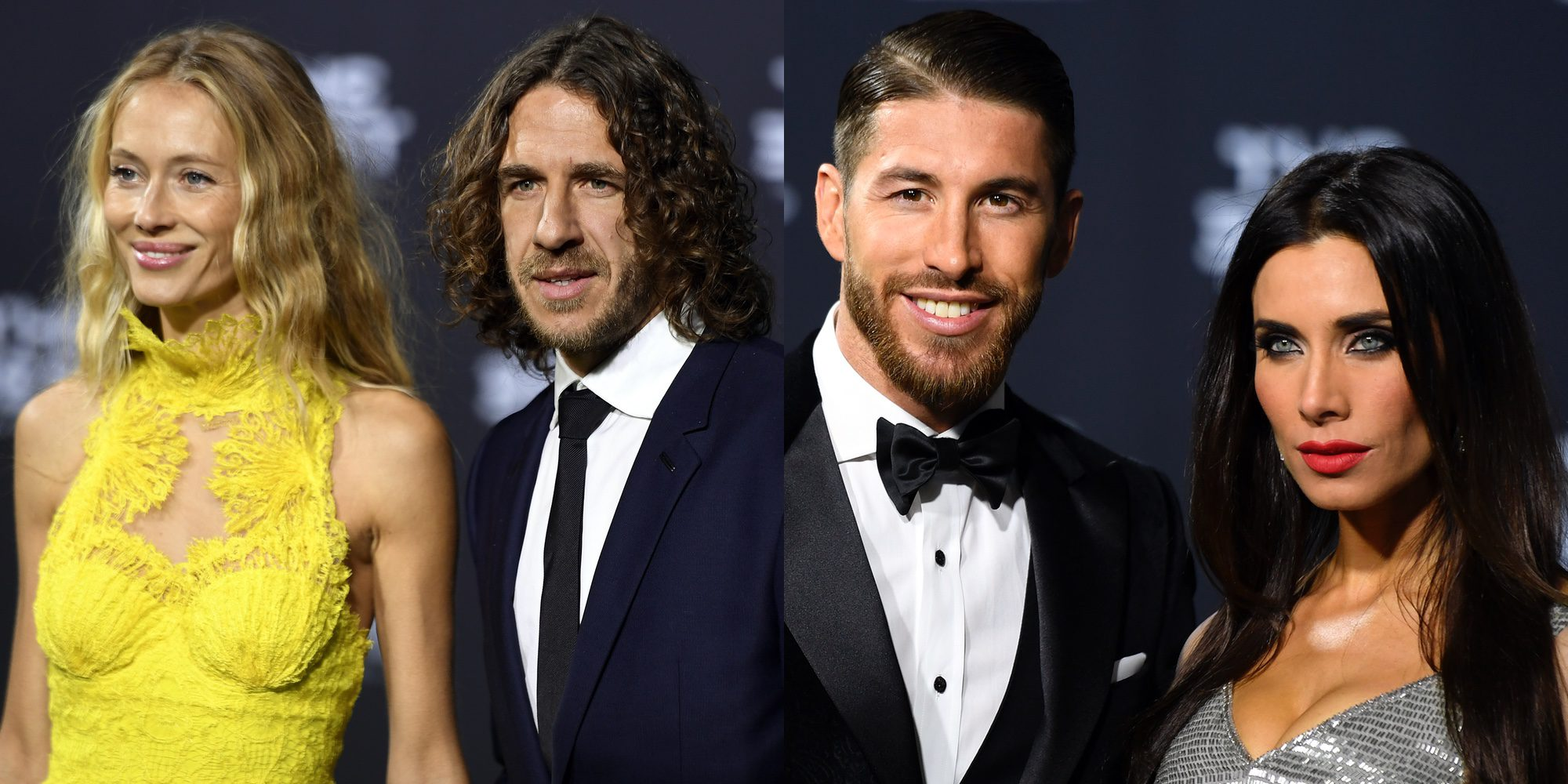 Pilar Rubio o Vanesa Lorenzo entre las más flasheadas de los premios de la FIFA