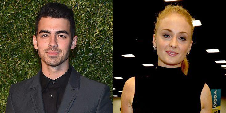 Sophie Turner y Joe Jonas derrochan pasión en la fiesta de los Globos de Oro 2017