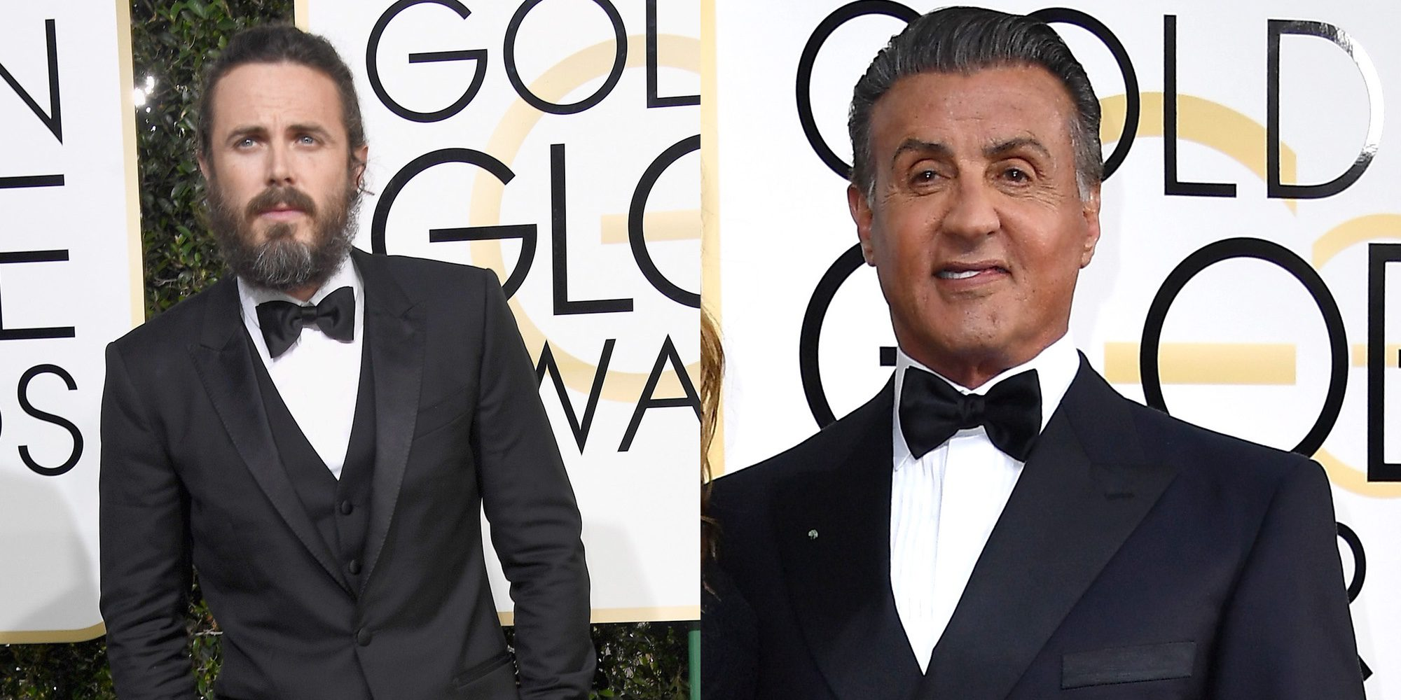 Sylvester Stallone se enfada con Casey Affleck al quedarse sin sitio en los Globos de Oro 2017